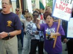 Healthcare rally